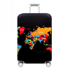 Load image into Gallery viewer, Travel the World Suitcase Cover