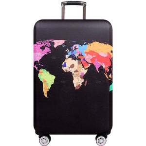Travel the World Suitcase Cover