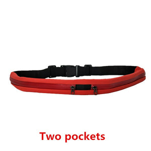 Waterproof Double Pocket Belt Travel Accessory