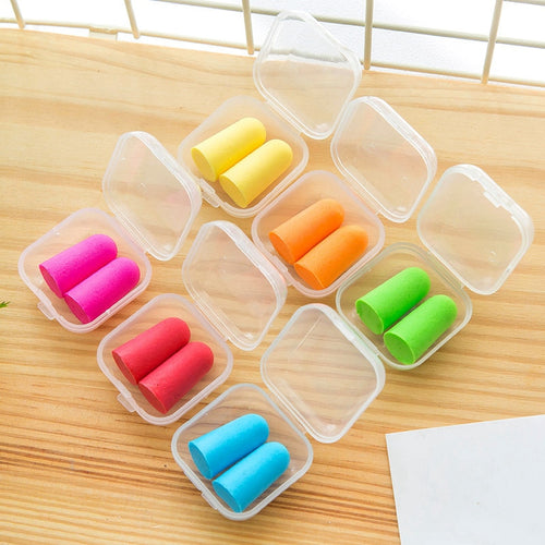 Noise Eliminating Ear Plugs 5 pairs