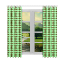 "Load image into Gallery viewer, SERIPPY Window Curtain 52""x108""(Two Piece) - serippymall"