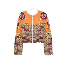 Load image into Gallery viewer, SERIPPY Cropped Chiffon Jacket for Women (Model H30) - serippymall