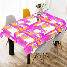 "Load image into Gallery viewer, SERIPPY Cotton Linen Tablecloth 60"" x 90"" - serippymall"