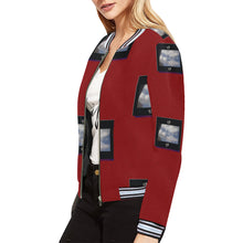 Load image into Gallery viewer, SERIPPY All Over Print Bomber Jacket for Women (Model H21) - serippymall
