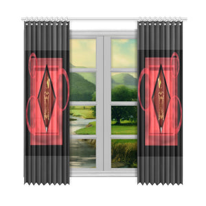 "SERIPPY Window Curtain 52""x108""(Two Piece) - serippymall"