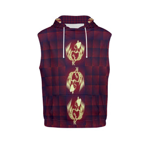 SERIPPY All Over Print Sleeveless Hoodie for Men (Model H15) - serippymall