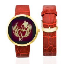Load image into Gallery viewer, SERIPPY Women's Golden Leather Strap Watch(Model 212) - serippymall
