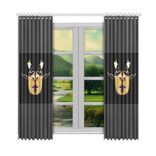 "Load image into Gallery viewer, SERIPPYE Window Curtain 52""x108""(Two Piece) - serippymall"