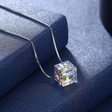 Load image into Gallery viewer, Sterling Silver Aurora Borealis Swarovski Elements Necklace- Two Options - serippymall