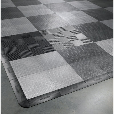 "2 of 5 images - 12"" (30.5 cm) x 12"" (30.5 cm) Tile Flooring (48-Pack) (thumbnails)"