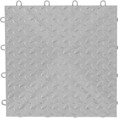 5 of 5 images - Gladiator® Silver Tile Flooring (4-Pack) (thumbnails)