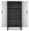 4 of 5 images - Gladiator® Ready-To-Assemble Mobile Storage GearBox Cabinet