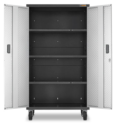 4 of 5 images - Gladiator® Ready-To-Assemble Mobile Storage GearBox Cabinet (thumbnails)