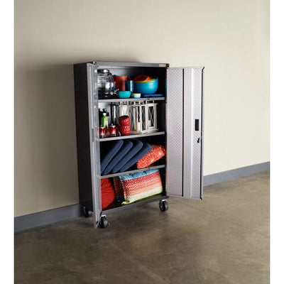 3 of 5 images - Gladiator® Ready-To-Assemble Mobile Storage GearBox Cabinet (thumbnails)