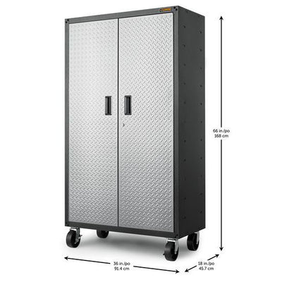 2 of 5 images - Gladiator® Ready-To-Assemble Mobile Storage GearBox Cabinet (thumbnails)