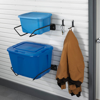 2 of 4 images - Gladiator® Storage Bin Holder (thumbnails)