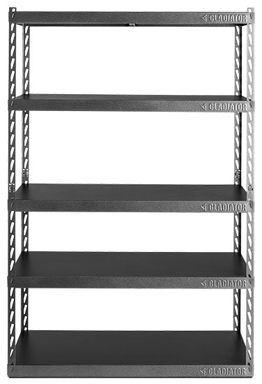 "Gladiator® 48"" (121.9 cm) Wide EZ Connect Rack with Five 24"" (61 cm) Deep Shelves"