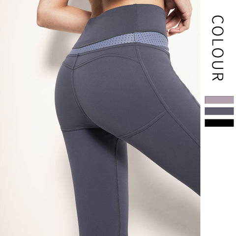 Leggings taille haute élastique, le leggings grand confort - Gym Zone 2