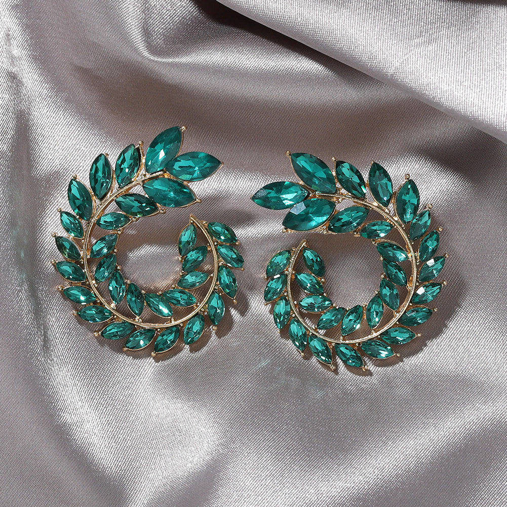 Gypsy Earrings - Dark Green