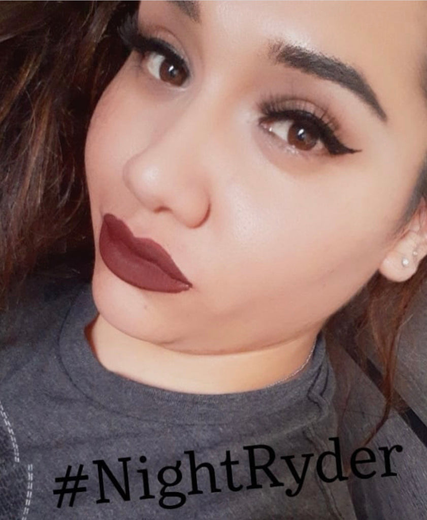 Liquid Matte Dreams Lipstick | Night Ryder