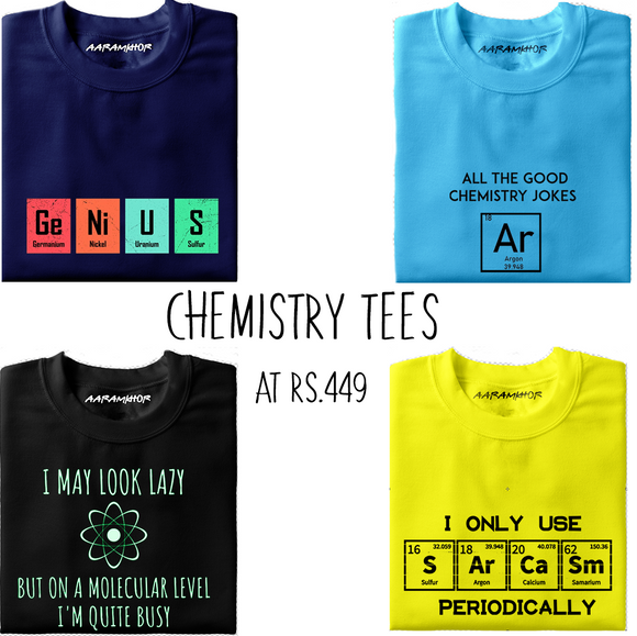 Chemistry T-Shirts & Science T-Shirts