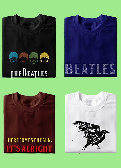 The Beatles T-Shirts, Hoodies & Tops