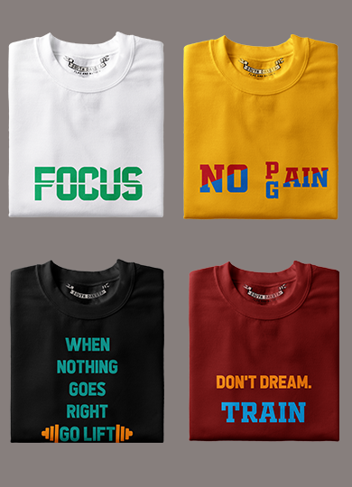 Gym Fitness Motivation T-Shirts & Hoodies