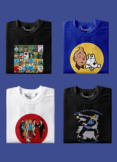 TinTin T-Shirts, Hoodies & Tops