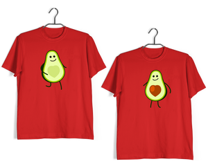 RELATIONSHIPS Matching Couples avocado couple T-Shirts for Boyfriend Girlfriend Fiance Husband Wife Mother Father Family - Aaramkhor