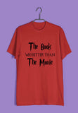 Books Funny Funny The book was better than the movie Custom Printed Graphic Design T-Shirt for Women - Aaramkhor