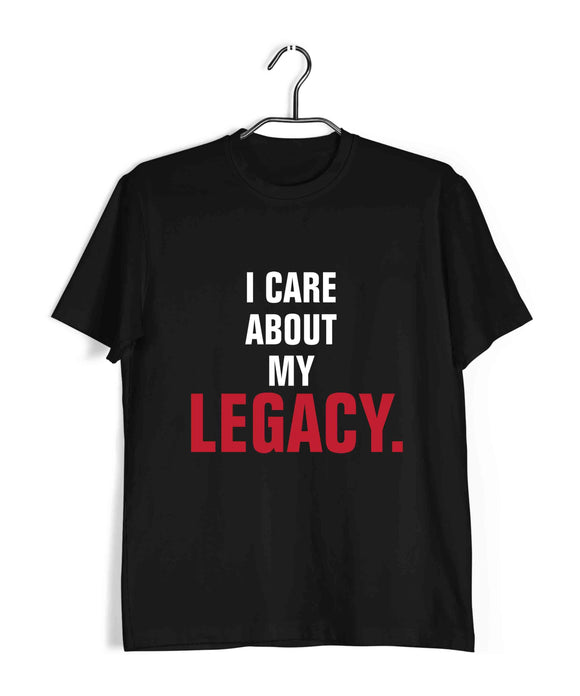 SPORTS UFC MMA I care about my legacy - Khabib Nurmagomedov Custom Printed Graphic Design T-Shirt for Women - Aaramkhor