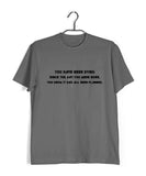 MUSIC Metallica Epic Lyrics Custom Printed Graphic Design T-Shirt for Men - Aaramkhor