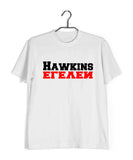 TV SERIES Stranger Things HAWKINS MIDDLE SCHOOL Custom Printed Graphic Design T-Shirt for Women - Aaramkhor