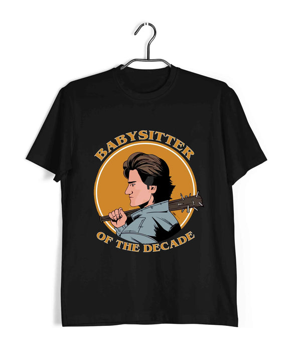 TV SERIES Stranger Things Babysitter STEVE Custom Printed Graphic Design T-Shirt for Women - Aaramkhor