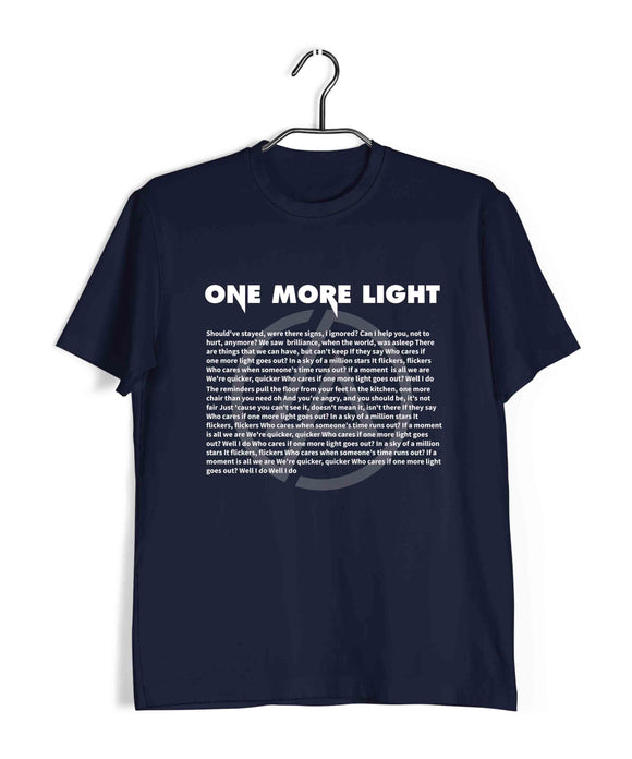 Linkin Park Music Linkin Park One More light Custom Printed Graphic Design T-Shirt for Men - Aaramkhor