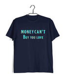 Beatles MUSIC MUSIC MONEY CANT BUY LOVE Custom Printed Graphic Design T-Shirt for Women - Aaramkhor