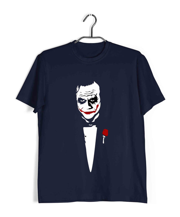 Joker COMICS Joker JOKE FATHER Custom Printed Graphic Design T-Shirt for Men - Aaramkhor