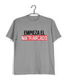 Money Heist TV series Money Heist Empieza El Matriarcado Custom Printed Graphic Design T-Shirt for Men - Aaramkhor