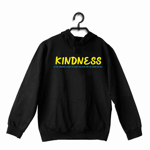 George Orwell Books George Orwell Kindness is the language which the deaf can hear and the blind can see. UNISEX HOODIE Sweatshirts - Aaramkhor