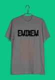 Music Artists Eminem Custom Printed Graphic Design T-Shirt for Men - Aaramkhor