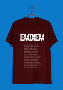 Music Artists Eminem Custom Printed Graphic Design T-Shirt for Women - Aaramkhor