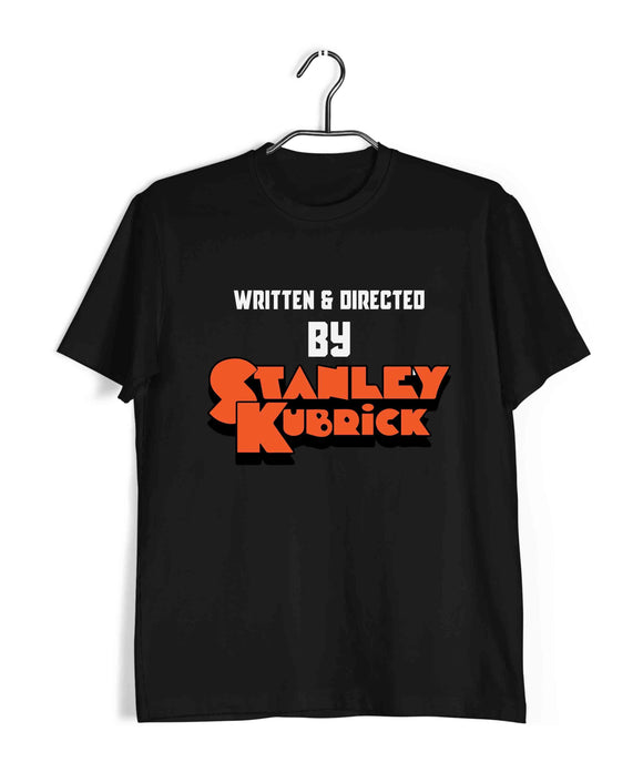 Black  Movies Stanley Kubrick Written & Directed by Stanley Kubrick Custom Printed Graphic Design T-Shirt for Men