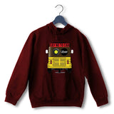 Maroon  Politics Freedom SAY NO TO CAB UNISEX HOODIE Sweatshirts
