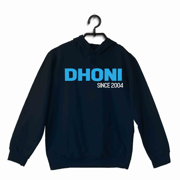 Cricket Team India DHONI - Since 2004 UNISEX HOODIE Sweatshirts - Aaramkhor