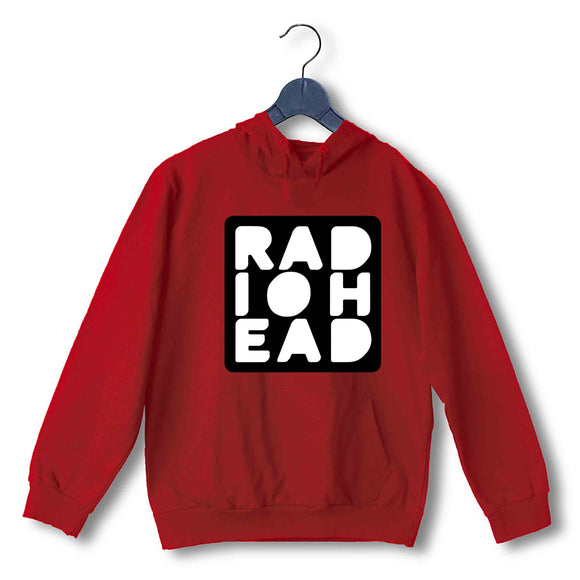 Red  Music Radiohead FAN Logo UNISEX HOODIE Sweatshirts