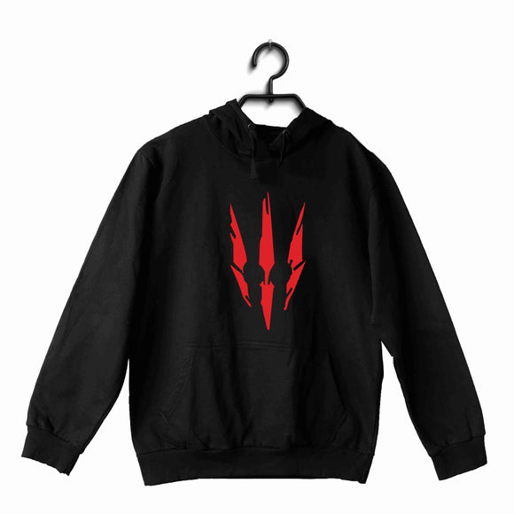 Black  TV Series Video Games The Witcher WITCHER UNISEX HOODIE Sweatshirts