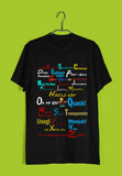 TV Series Friends Friends A-Z Custom Printed Graphic Design T-Shirt for Men - Aaramkhor