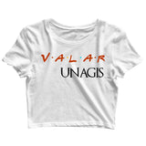 Aaramkhor Specials TV Series Friends Valar Unagis Custom Printed Graphic Design Crop Top T-Shirt for Women - Aaramkhor