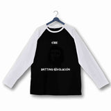 Aaramkhor Specials Sports T-Shirt for Womens of The Year Cricket Che Pu - Batting Revolution Custom Printed Graphic Design Raglan T-Shirt for Women - Aaramkhor