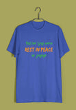 TV Series T-Shirt for Mens of The Year Mirzapur Rest kar lijiye warna Rest in peace ho jayenge Custom Printed Graphic Design T-Shirt for Men - Aaramkhor